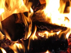 Причина зимних пожаров