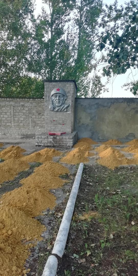 В п. Утиновка благоустроят памятник