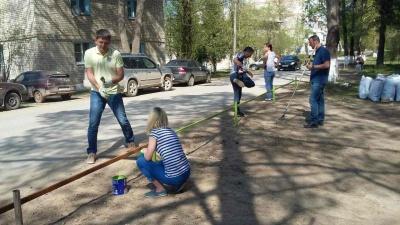 Прошедшие субботники в рамках месячника благоустройства п. Товарково