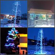 Зима-это время чудес... Новогоднее украшение с. Боринское.