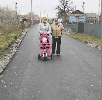 Еще одну улицу в Терновке заасфальтировали