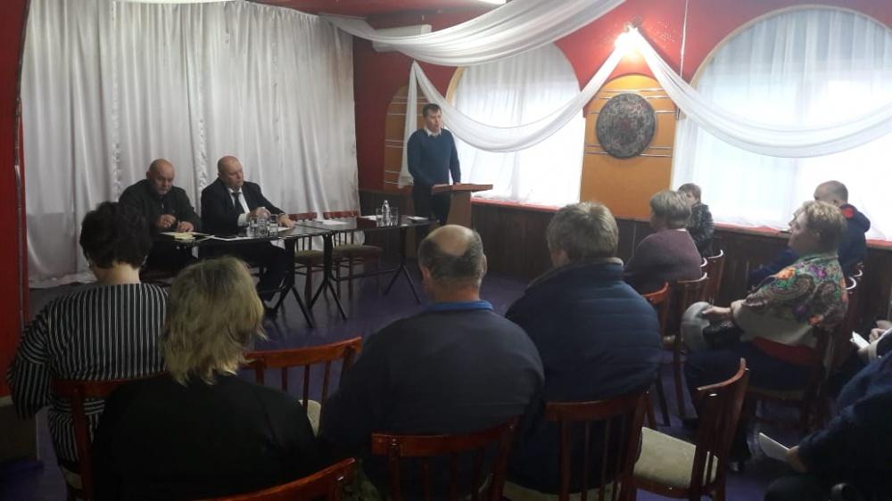 5 февраля 2020 года в МУ «СДК ст. Камышеватской» прошло совещание по вопросу развития малых форм хозяйствования