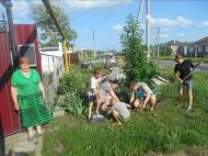 18 мая прошла акция в рамках года волонтера под названием «Юный тимуровец»