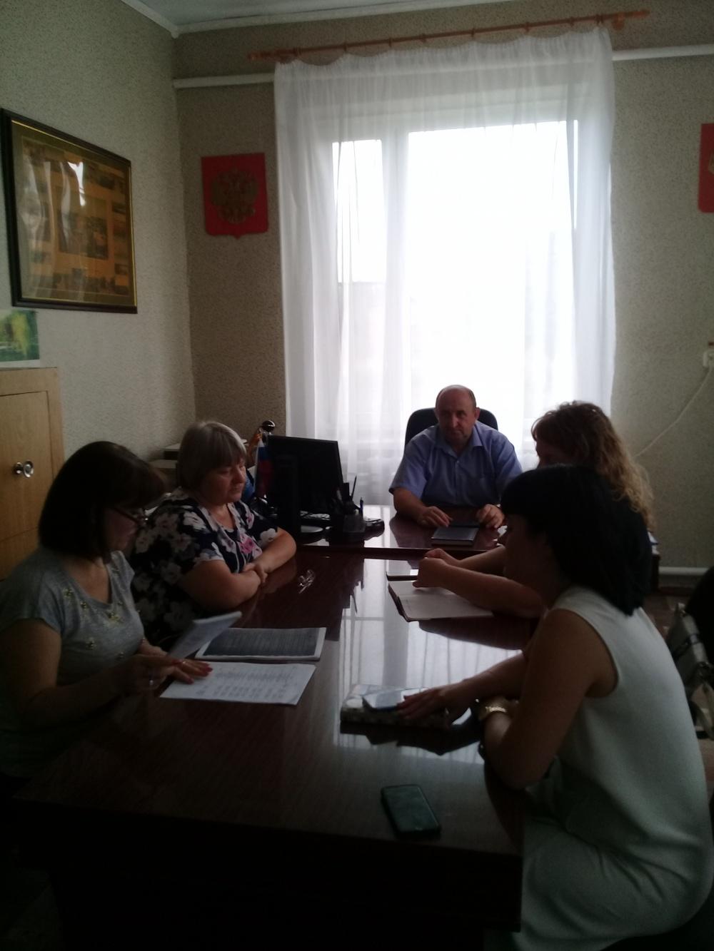 16 июля 2019 года проведено заседание предвыборного штаба по подготовке проведения выборов 8 сентября 2019 года