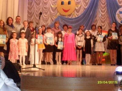 """Фестиваль """"Росинка"""" 23.04.2015"""