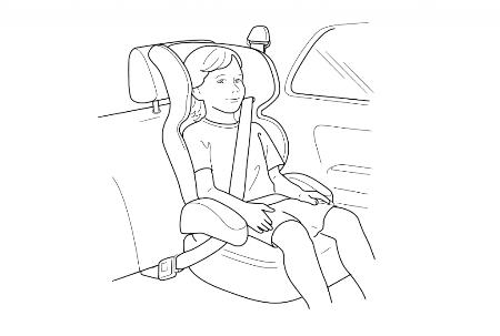 Перевозить ребенка младшего школьного возраста в автомобиле разрешается с использованием как детского автокресла, так и ремней безопасности