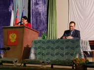 29 марта 2019 года состоялся Отчет Главы Заливского сельского поселения Октябрьского муниципального района Волгоградской области