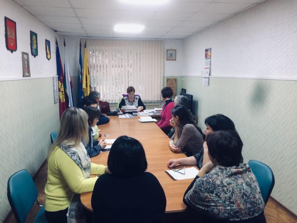 17 января 2020г в зании Администрации прошло  заседание КЧС