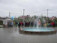 """Открытие фонтана в  парке """"Школьный"""""""
