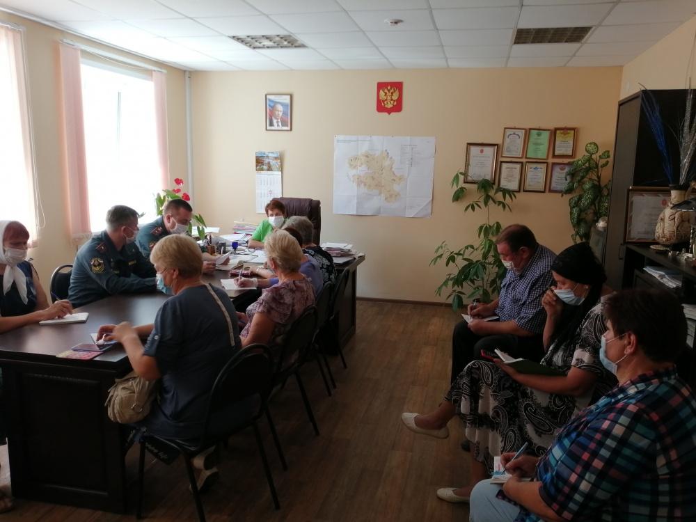 Встреча сельских старост и председателей ТОС