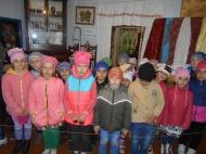 В Нижнемамонском музее крестьянского быта побывали дети старшей группы дошкольного образования села на экскурсии «Здравствуй, музей!»