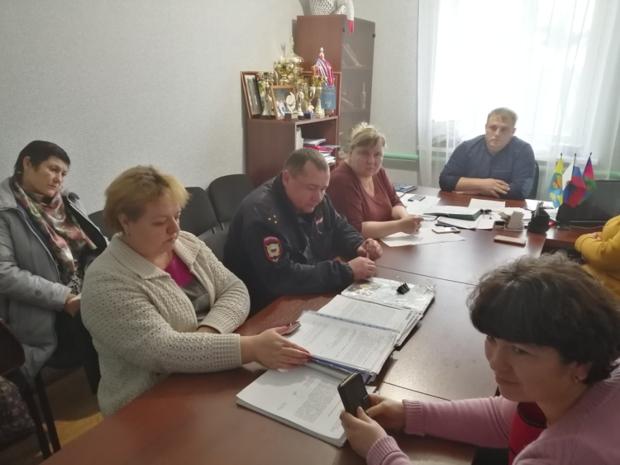 Заседание территориальной комиссии по профилактике правонарушений