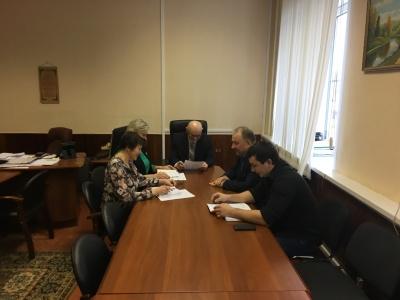 6 февраля состоялось заседание комиссии   по охране труда администрации Каширского муниципального района