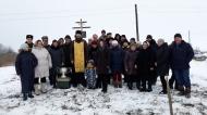 10/12/2018 в н/п Знаменье на месте разрушенного храма был установлен Поклонный крест коренными жителями н/п и активистами д. Молчаново