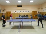 23 февраля в Нижнеикорецком СДК прошел 5 турнир по настольному теннису