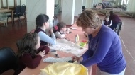 В СДК №1 проведен мастер-класс «Как сшить Петрушку»