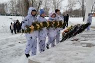 Митинг, посвященный освобождению села от немецко-фашистских захватчиков