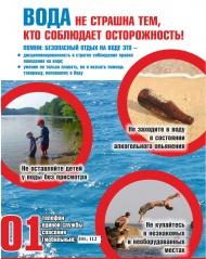 памятки по безопасности на воде