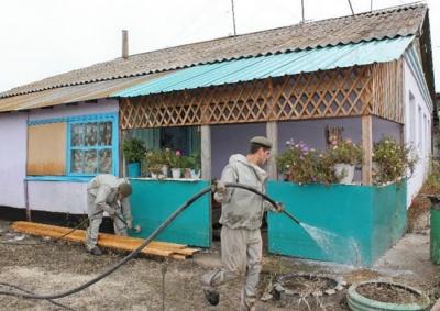 ПАМЯТКА НАСЕЛЕНИЮ Проведение дезинфекции территорий