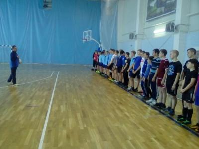 Турнир по мини-футболу среди сборных команд 7-11 классов Каширской СОШ и Каширской ДЮСШ