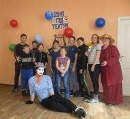 27 марта в День театра в Мамоновском ЦК прошла конкурсная игровая программа для детей «Мы играем в театр».