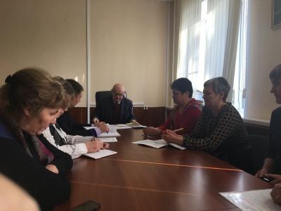 Заседание комиссии по мобилизации  доходов в консолидированный бюджет района и легализации заработной платы