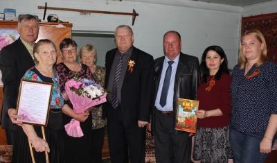 Жительнице села Заволжье Хохловой Пелагее Ивановне исполнилось  девяносто лет