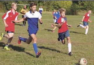 Юные футболисты обыграли соперников из Анны