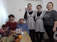 Поздравление с Днем защитника Отечества ветерана Великой Отечественной войны.