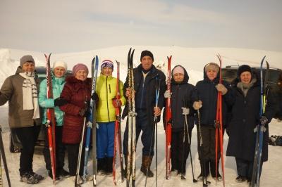 3 марта в селе Алькино состоялись лыжные гонки