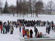 Проводы русской зимы -широкая масленица