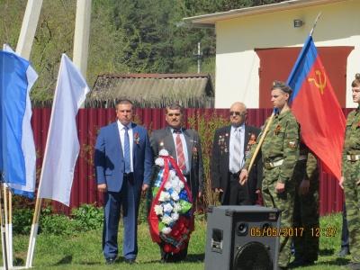 05 мая 2017 года  в Товарковской средней школе №2 прошли торжественные мероприятия посвященные «Дню Победы»