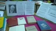 Выставка – обзор книг Д. Гранина «Жизнь и сердце, отданные людям»