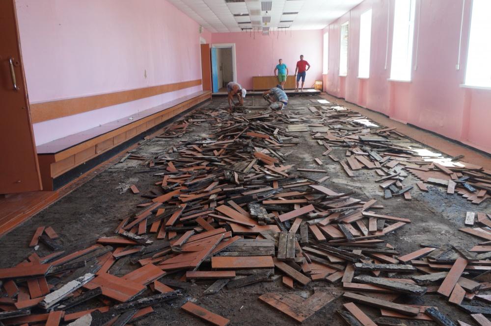 Долгожданный ремонт Дома культуры начат!