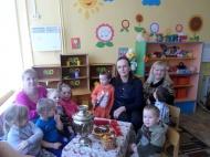 В МКДОУ «Ромашка» прошла акция «Живая история»