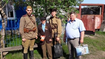 В районе с Днем Победы поздравили ветеранов Великой Отечественной войны