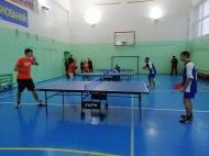 """27 ноября в спортзале """"Юность"""" прошла спартакиада студентов по настольному теннису"""