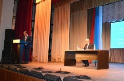 Глава Воробьевского сельского поселения отчитался перед населением
