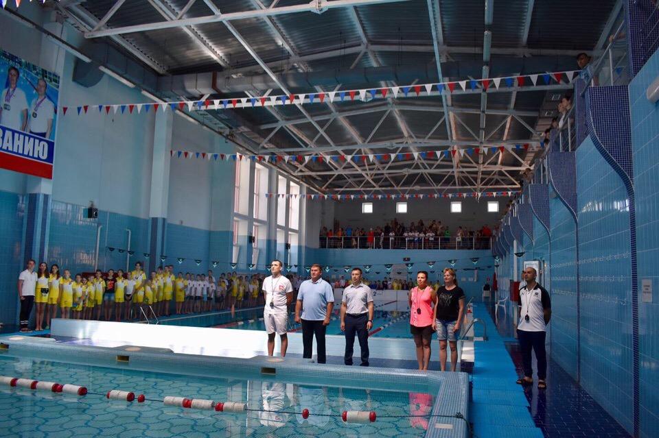 С 6 по 8 июня проходят соревнования по плаванию на Кубок главы Кущевского сельского поселения
