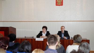 Встреча с Председателем Территориальной избирательной комиссии Ейская районная Татьяной Николаевной Чернодырка