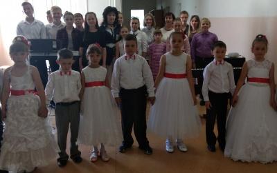 28 мая 2018 года учащиеся МКУДО «Каширская ДШИ» дали профориентированный концерт в МКОУ «Краснологская СОШ»