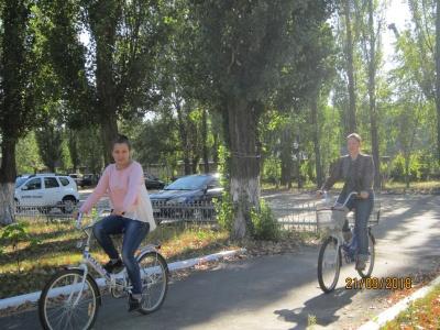 """Всероссииская Акция """"На работу на велосипеде"""""""