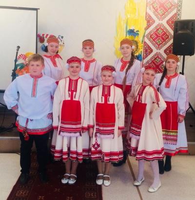 Районный детский фестиваль «Эрзянь келень чи»