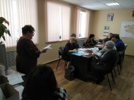 Заседание Собрания депутатов МО Новольвовское Кимовского района