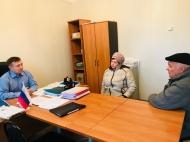 08/11/2018 прием граждан д. Крутое главой администрации муниципального образования Епифанское