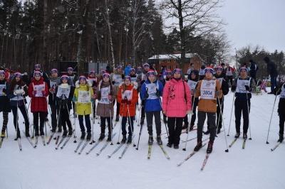 Каширцы  приняли участие в массовой гонке  «Лыжня России – 2018»