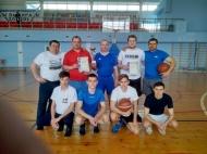 Песковское сельское поселение заняло 1 место по баскетболу.