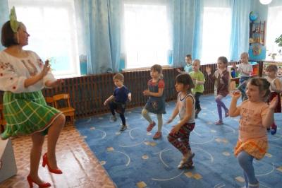 Урок народного танца