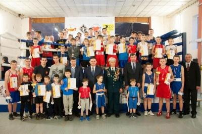 В городе  Воронеже боксерские команды почтили память погибших работников органов госбезопасности