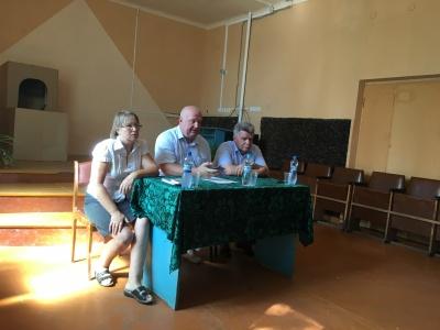 31 июля 2018 года  состоялась  встреча главы администрации района А.И. Пономарева  с жителями Данковского сельского поселения